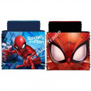 Spiderman Reversible Snood Blue / Red