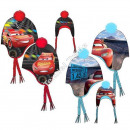 Cars hats polar fleece pompon