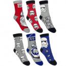 Star Wars 3 pares de calzetines en un paquete