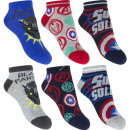 wholesale Socks and tights: Avengers 3 pack ankle socks