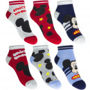 wholesale Socks and tights: Mickey 3 pack ankle socks