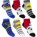Großhandel Socken & Strumpfhosen: Paw Patrol 3 pack sneaker socke