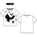 Batman T-shirt 3D with 3Dglasses