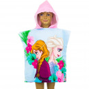 Frozen Disney Hooded poncho Pink