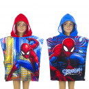 grossiste Manteaux et vestes: Spiderman Cape de bain capuche