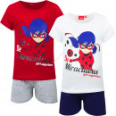 Miraculous Ladybug short pyjama Girl Superhero