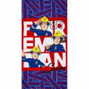 wholesale Bath & Towelling: Fireman Sam beach towel microfiber