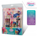 Shimmer and Shine 11 pieces Stationery set