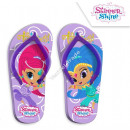Shimmer and Shine flip flops