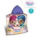 Shimmer and Shine Poncho z kapturem