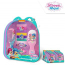Shimmer and Shine backpack with hair set
