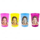 mayorista Articulos de fiesta: Soy Luna un conjunto de 4 vasos de plástico