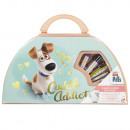 Secret Life of Pets Carry along Art Case