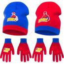 Spiderman berretto con guanti
