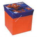 Spiderman storage stool