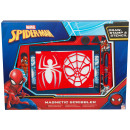 Spiderman magnetic scribbler
