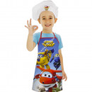 Super Wings set da cucina,capello cuoco+grembiule