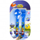 wholesale Licensed Products:Super Wings Cutlery set