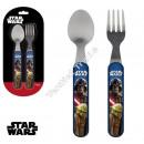 Star Wars cubiertos de plástico