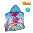 wholesale Coats & Jackets:Trolls Hooded poncho