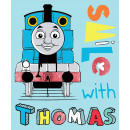 Thomas and Friends fleece blanket