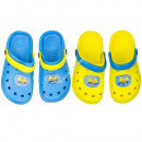 Minions Beach sandals blue and yellow