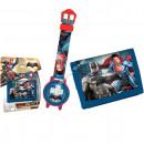 Batman vs Superman Reloj + monedero