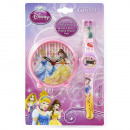 Princesas Reloj + despertador