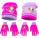 Soy Luna hats and gloves