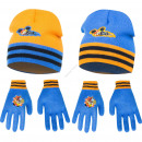 Mickey hats and gloves