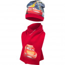 Cars Disney hat and scarf McQueen
