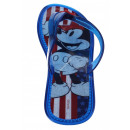 Mickey Mouse Flip Flops colors of the U.S. flag