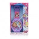 Princess wall clock 47 cm
