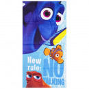 Finding Dory velour beach towel New rule: No Talki