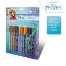 wholesale School Supplies: Frozen 10 pcs colour pencil with grips