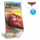 Cars Disney Velour beach towel Fireball beach race
