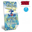 Mickey velour beach towel