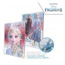 Frozen Disney Diary Water effect