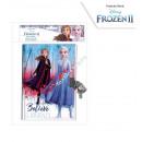 Frozen 2 Disney secret notebook with lock Journey