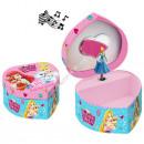 Princess wooden  jewerly box with music