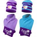 ingrosso Prodotti con Licenza (Licensing): Il Regno Di Ghiaccio - Frozen berretto con sciarpa