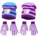 Frozen hats and gloves