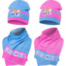 Princess hat and scarf
