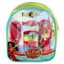Elena Avalor backpack with hair set