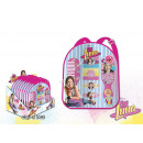 Soy Luna backpack with hair set