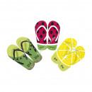 grossiste Vetement et accessoires:tongs Fruits