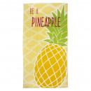 Velour beach towel Pineapple