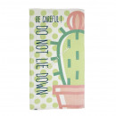 Velour beach towel Cactus