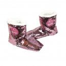 Slippers Flamingo Sequin