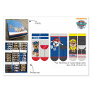 Paw Patrol socks in display for kids